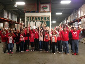 Detroit Alumni Club at Gleaners