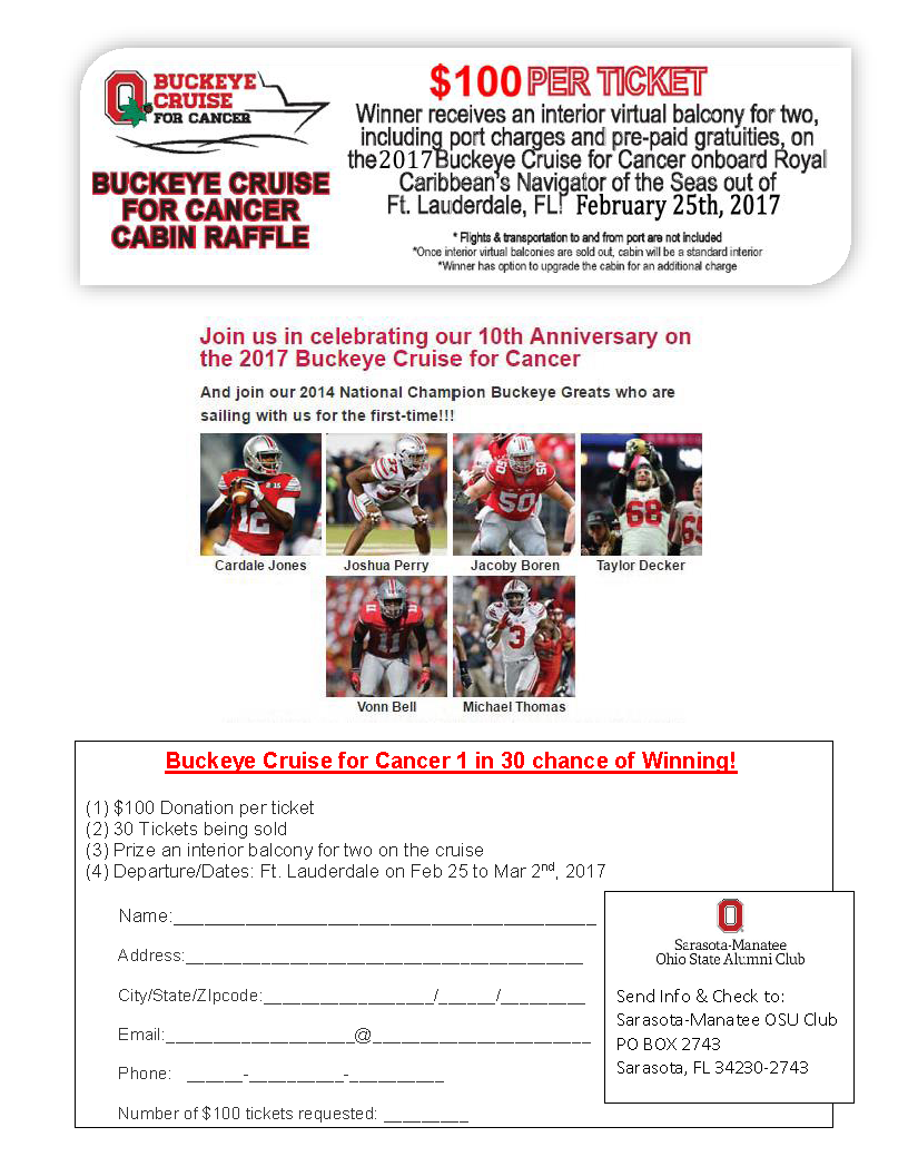 2017 Buckeye Cruise for Cancer
